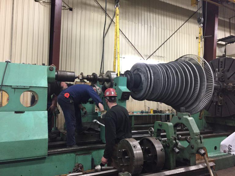 Image of Emergency Turbine Rotor Repair