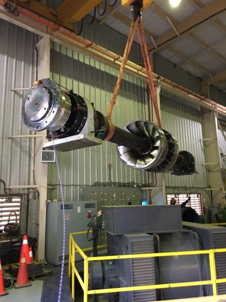 Image of Serpent River GS Turbine Rebuild