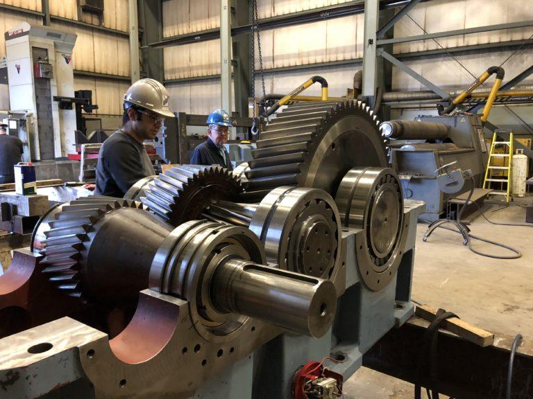 Image of Chiblow G.S. Turbine Gearbox Refurbishment