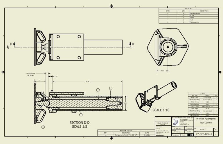 Image of Cone Crusher Leveling Cylinders