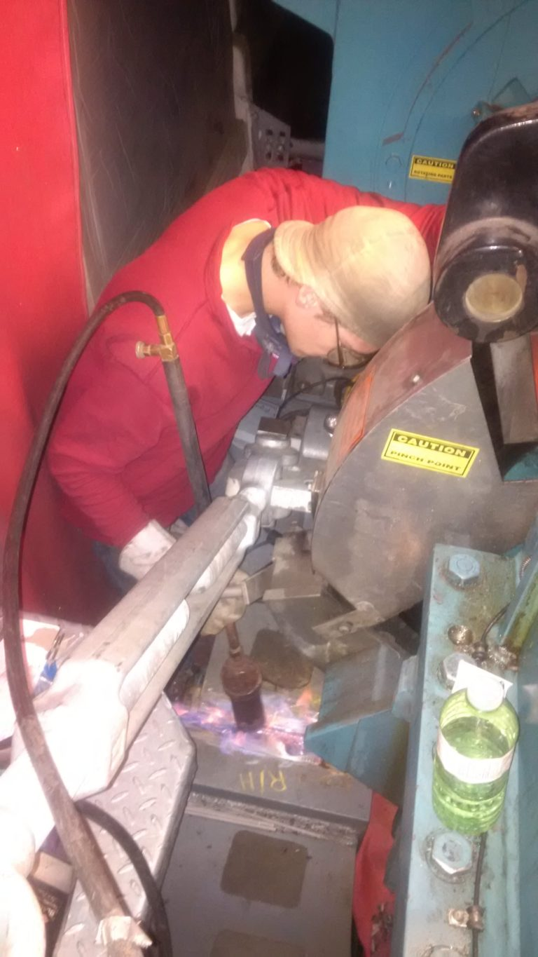 Image of In-place Wind Turbine Gearbox Frame Repair