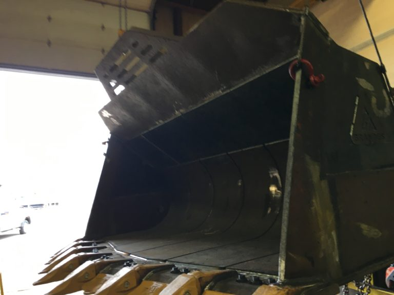 Image of Heavy Equipment Bucket Repair