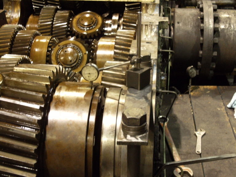 Image of SRM Gearbox Inspection and Repair